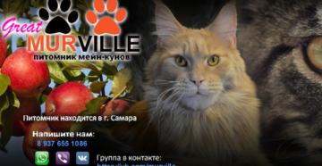 """Питомник """"Murville"""""""